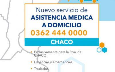 Nuevo servicio de asistencia médica domiciliaria en la provincia de Chaco